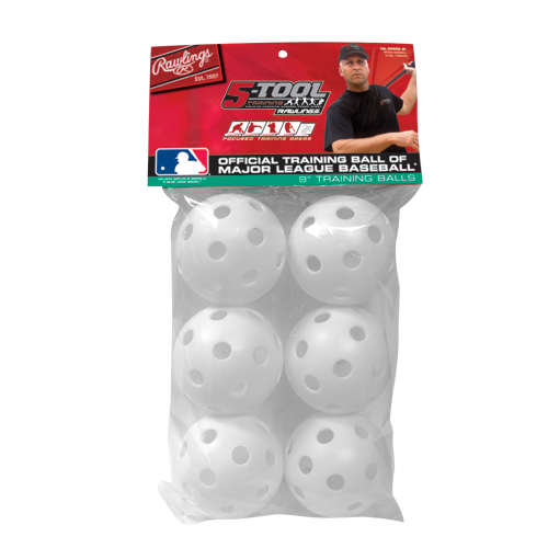 RAWLINGS 5TROPT9PK6 Wiffle Baseball Training Balls